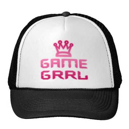 game grrl hats