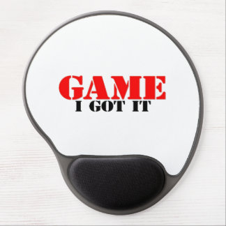 Game I Got It Gel Mouse Pad