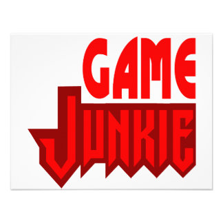 Game Junkie Personalized Announcement