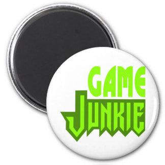 Game Junkie Magnet