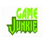 Game Junkie Postcard