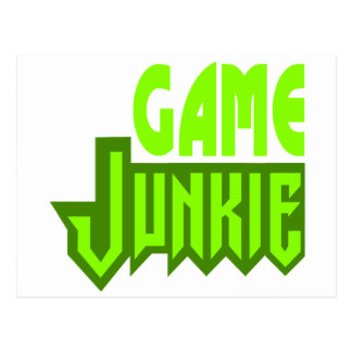 Game Junkie Post Cards
