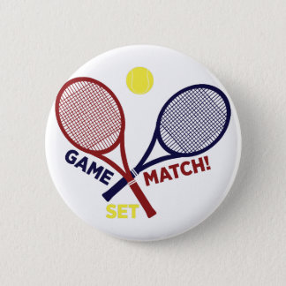 Game Match Set Pinback Button