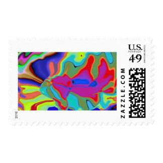 Game model fantasy postage stamps