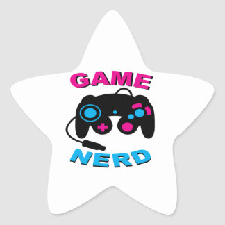 Game Nerd Stickers