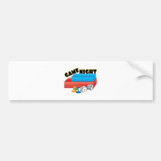 Game Night Bumper Sticker