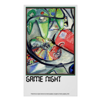 GAME NIGHT by Annika Print