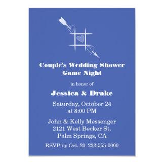 Game Night Couple's Wedding Shower Invitation