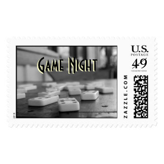 Game Night Postage Stamp