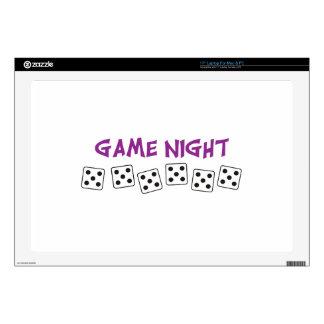 """GAME NIGHT 17"""" LAPTOP DECAL"""