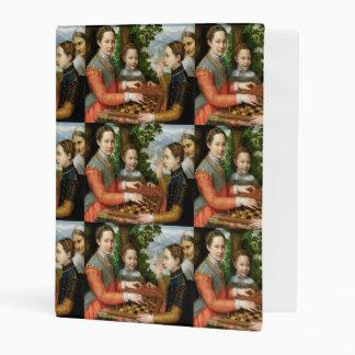 Game of Chess by Sofonisba Anguissola - Circa 1555 Mini Binder