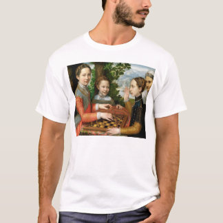Game of Chess by Sofonisba Anguissola - Circa 1555 T-Shirt
