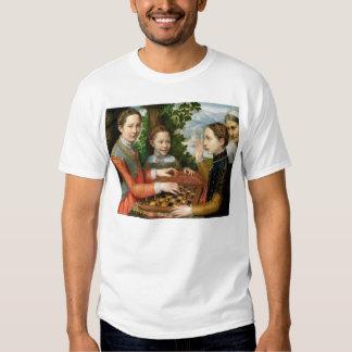Game of Chess by Sofonisba Anguissola - Circa 1555 Tee Shirt