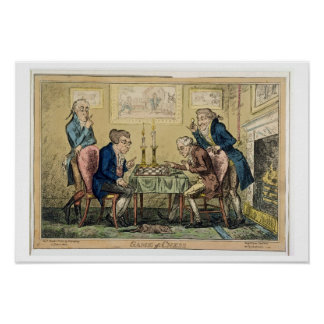 Game of Chess, published by H. Humphrey, London (c Poster