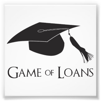 Game of College Graduation Loans Photo Print