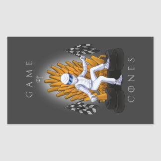 Game of Cones Stickers