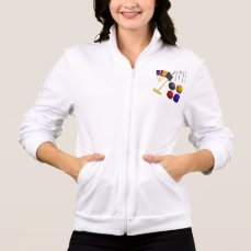 Game Of Croquet Womens Jacket