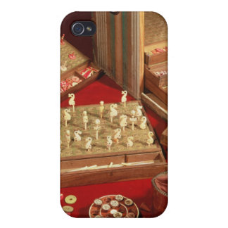 Game of Dauphin lotto invented by Louis XIV Cover For iPhone 4