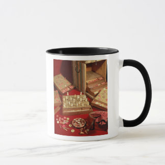 Game of Dauphin lotto invented by Louis XIV Mug