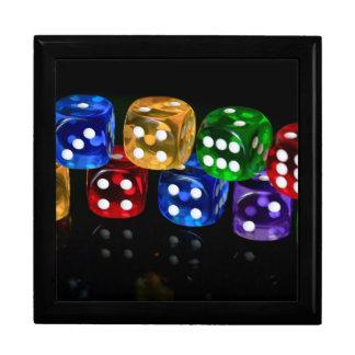 Game of Dice Jewelry Box