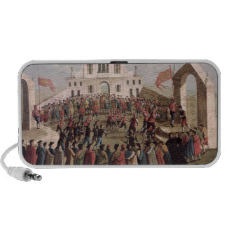 Game of Football at Sant'Alvise, Venice iPhone Speaker