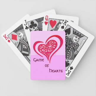 Game of Hearts Playing Cards