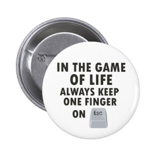 Game of Life 2 Inch Round Button