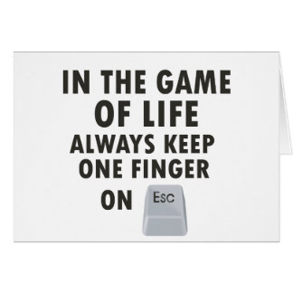 Game of Life Greeting Card