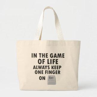 Game of Life Jumbo Tote Bag