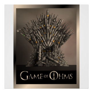 Game of Ohms Posters