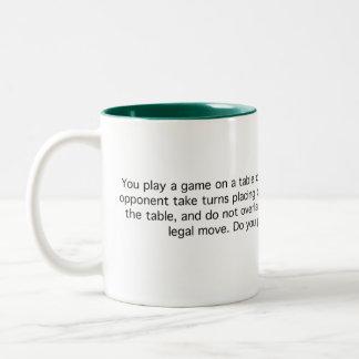 Game of Quarters Two-Tone Coffee Mug