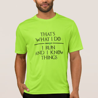 Game of Runhole Tech Shirt (green)