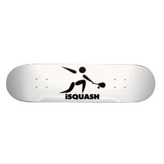Game Of Squash iSquash Logo Skate Boards
