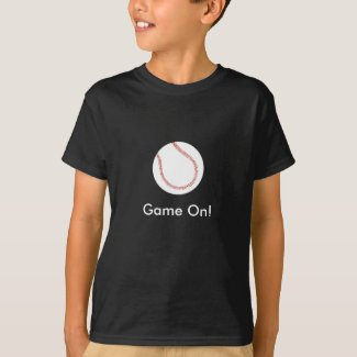 Game On! Baseball shirts