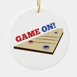 Game On! Ceramic Ornament