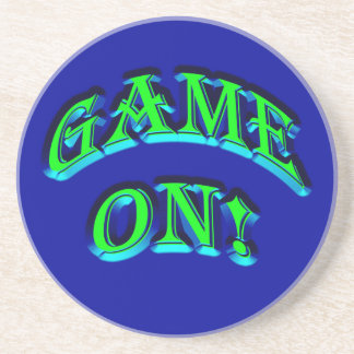 GAME ON! DRINK COASTER
