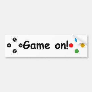 Game On! Controller Bumper Sticker
