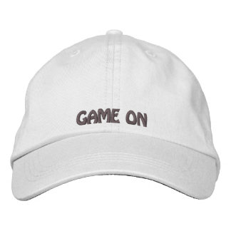 GAME ON Embroidered Hat