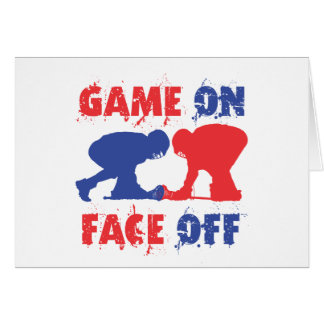 Game On, Face Off Card