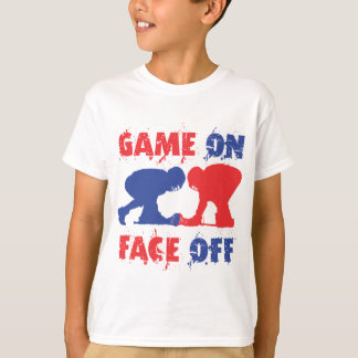 Game On, Face Off T-Shirt
