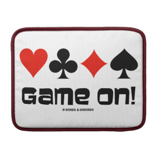 Game On! (Four Card Suits Bridge) Sleeve For MacBook Air