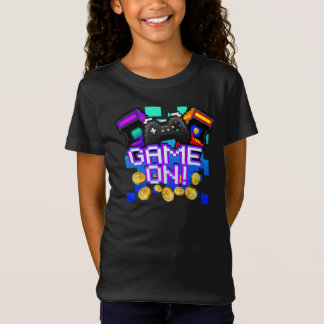 Game On! Girls dark T-shirt