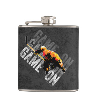 Game On Hip Flask