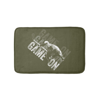 Game On (Hockey) Bath Mat