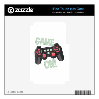 Game On iPod Touch 4G Skins