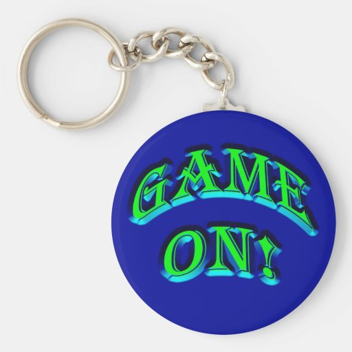GAME ON! KEY CHAINS