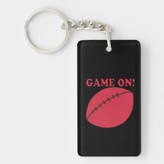Game On Keychain