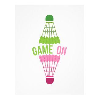 Game On Letterhead