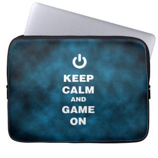 Game On Neoprene Laptop Sleeve 13 inch