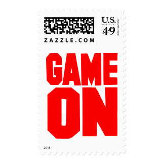 Game on postage stamps